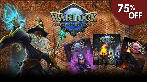 75% off Warlock