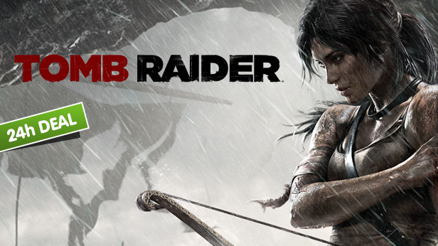 80% Off Tomb Raider