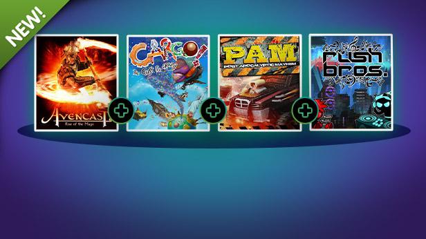 4 steam игры за доллар (2 игры с карточками)