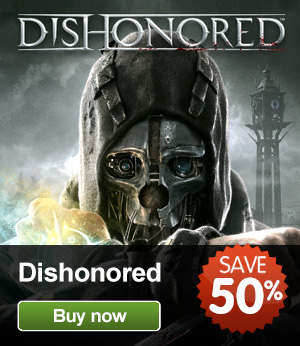 Dishonored (PC). $22.50 with promo code(R205). Please Note: The game is c
