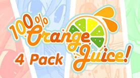 Image For 100% Orange Juice - 4 Pack