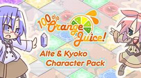 Image For 100% Orange Juice - Alte & Kyoko Character Pack