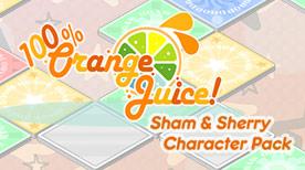 Image For 100% Orange Juice - Sham & Sherry Character Pack