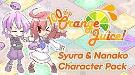 Image For 100% Orange Juice - Syura & Nanako Character Pack