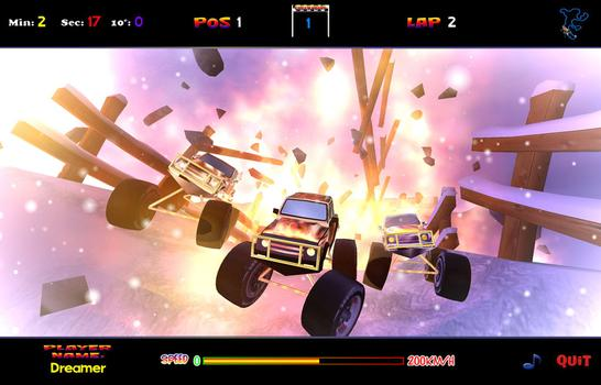 4 x 4 Dream Racing on PC screenshot #3