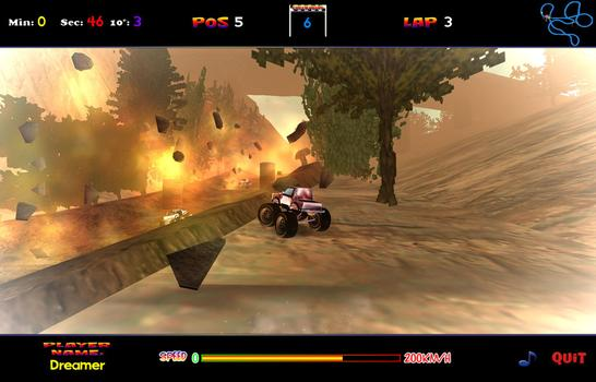 4 x 4 Dream Racing on PC screenshot #1