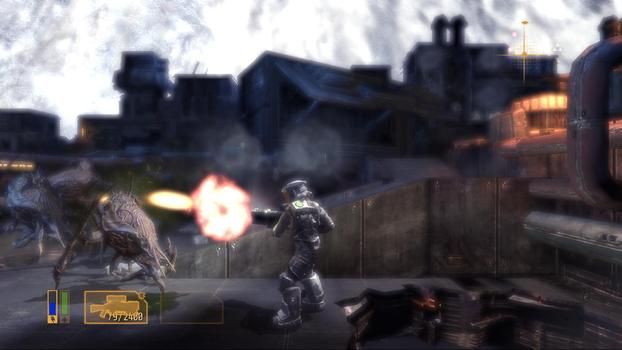 Alien Breed 3: Descent on PC screenshot #1