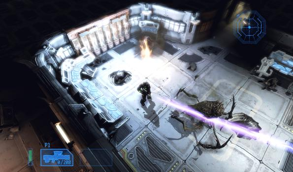 Alien Breed: Impact on PC screenshot #3