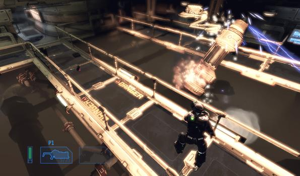 Alien Breed: Impact on PC screenshot #4