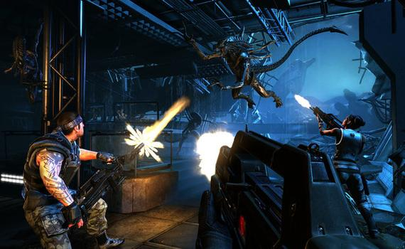 Aliens: Colonial Marines - Bug Hunt on PC screenshot #1