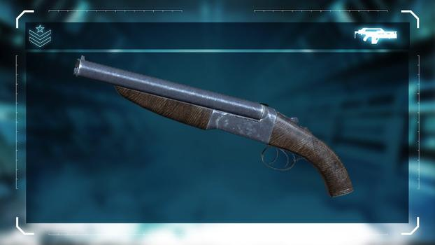 Aliens: Colonial Marines - Sawed-off Double Barrel Shotgun on PC screenshot #1
