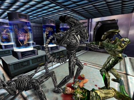 Aliens vs Predator Classic 2000 on PC screenshot #1
