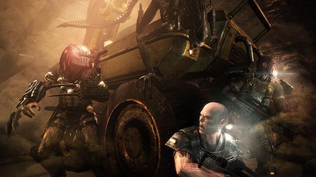 Aliens vs Predator on PC screenshot #4