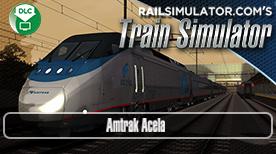 Amtrak Acela Express Addon