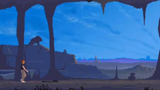 Another World: 20th Anniversary Edition on PC screenshot #6
