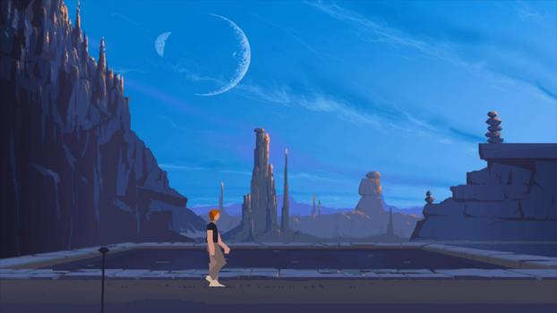 Another World: 20th Anniversary Edition on PC screenshot #1