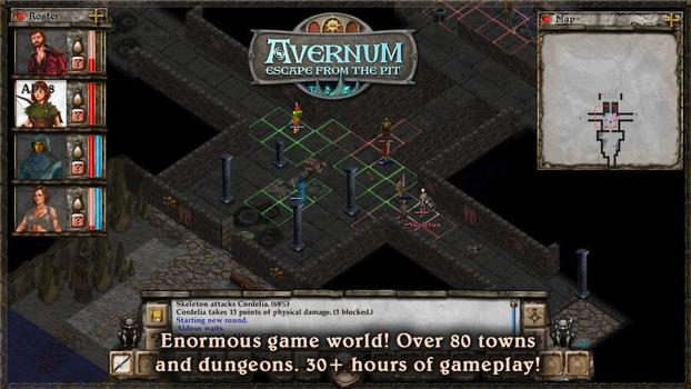 Avernum: Escape From The Pit on PC screenshot #2