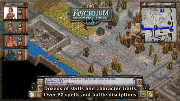 Avernum: Escape From The Pit on PC screenshot #1