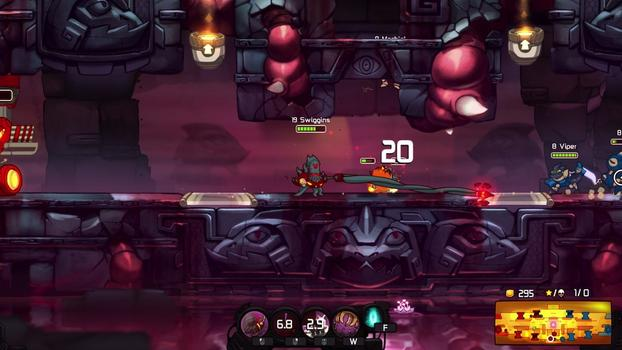 Awesomenauts - Abyssal Swiggins on PC screenshot #3