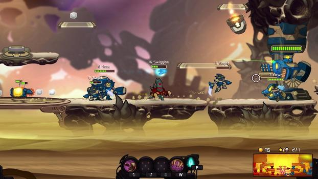 Awesomenauts - Abyssal Swiggins on PC screenshot #2
