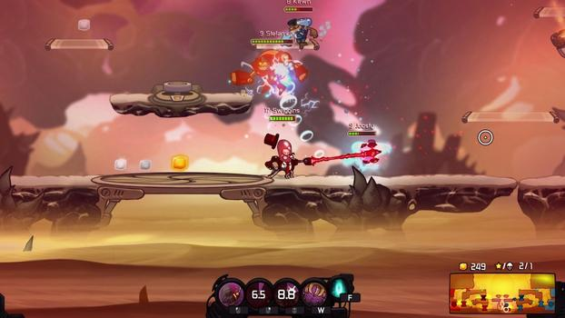 Awesomenauts - Admiral Swiggins PHD on PC screenshot #2