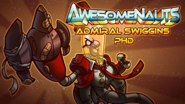 Awesomenauts - Admiral Swiggins PHD on PC screenshot #1