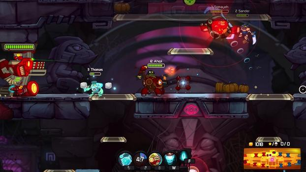 Awesomenauts - Ahrpl Skin on PC screenshot #4