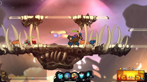 Awesomenauts - Ahrpl Skin on PC screenshot #2