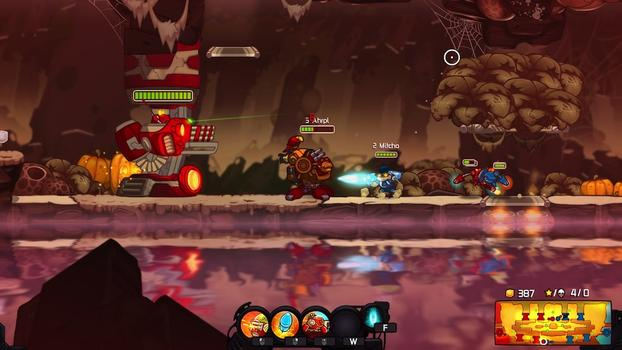 Awesomenauts - Ahrpl Skin on PC screenshot #1