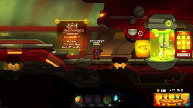 Awesomenauts - Bionic Raelynn on PC screenshot #5