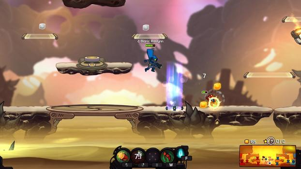 Awesomenauts - Bionic Raelynn on PC screenshot #4