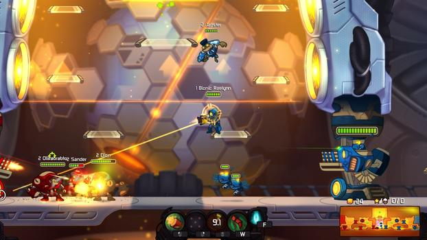 Awesomenauts - Bionic Raelynn on PC screenshot #3