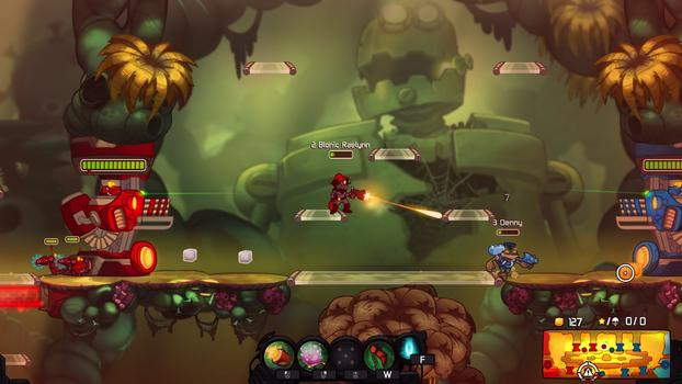 Awesomenauts - Bionic Raelynn on PC screenshot #2