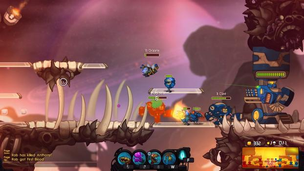 Awesomenauts - Bumble Gnaw Skin on PC screenshot #1