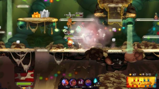 Awesomenauts - Cap'n Vinnie and Seadog Spike DLC on PC screenshot #3