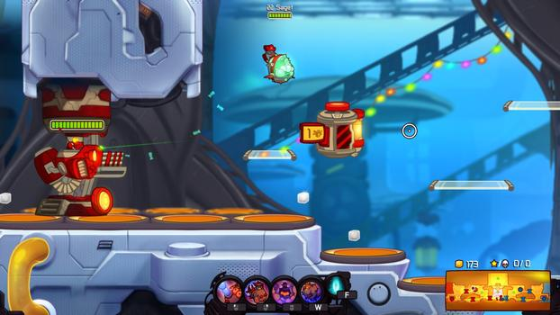 Awesomenauts - Cap'n Vinnie and Seadog Spike DLC on PC screenshot #2