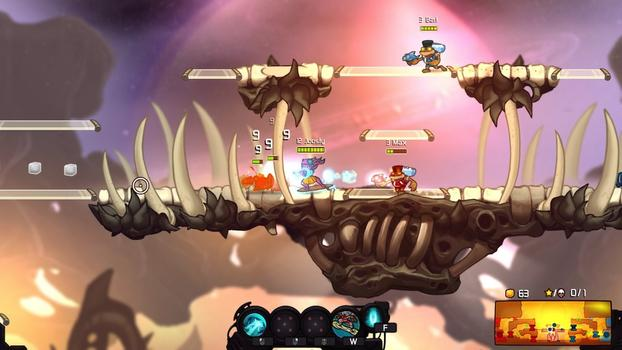 Awesomenauts - Coco Hawaii Skin on PC screenshot #3