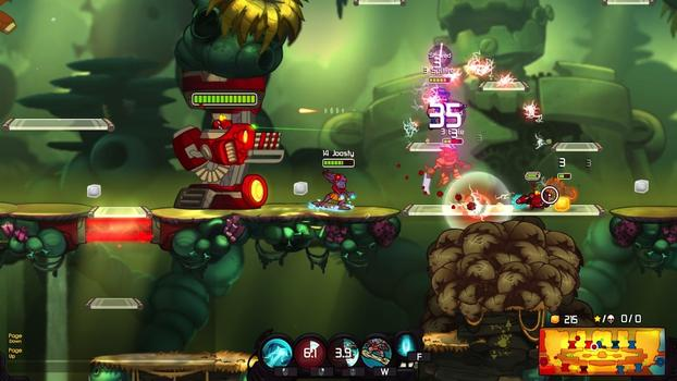 Awesomenauts - Coco Hawaii Skin on PC screenshot #1