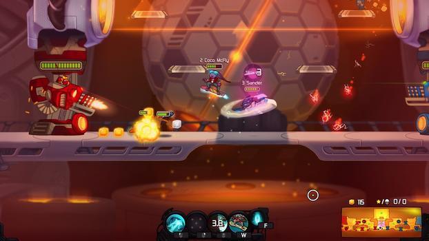 Awesomenauts - Coco McFly on PC screenshot #4