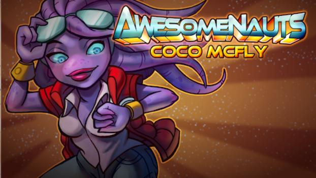 Awesomenauts - Coco McFly on PC screenshot #1