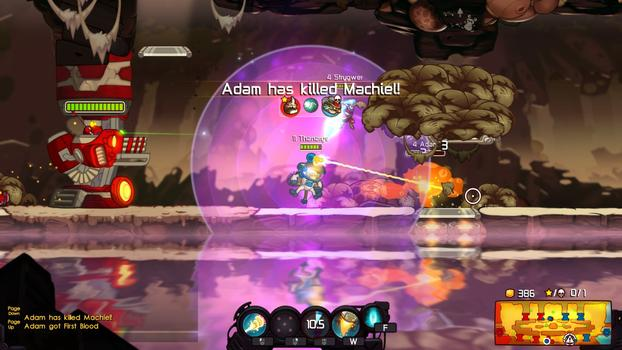 Awesomenauts - Costume Party Bundle on PC screenshot #7