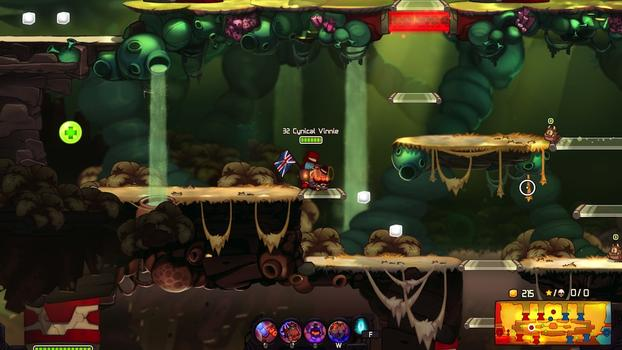 Awesomenauts: Cynical Vinnie & Total Spike on PC screenshot #5