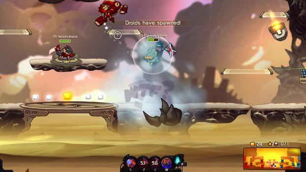 Awesomenauts: Cynical Vinnie & Total Spike on PC screenshot #2