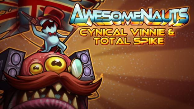 Awesomenauts: Cynical Vinnie & Total Spike on PC screenshot #1