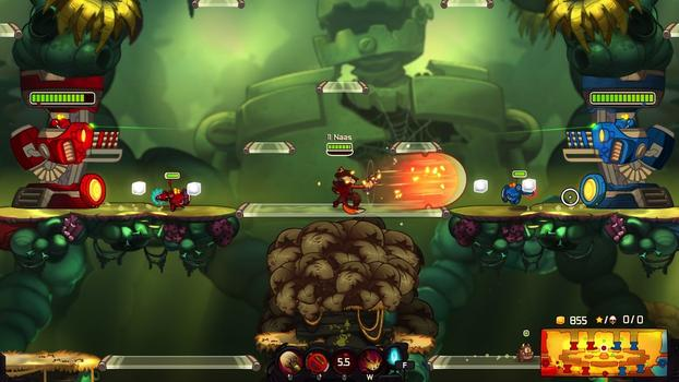 Awesomenauts - Desperado Penny on PC screenshot #5