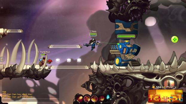Awesomenauts - Desperado Penny on PC screenshot #4