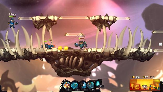 Awesomenauts: Digital G Skin on PC screenshot #3