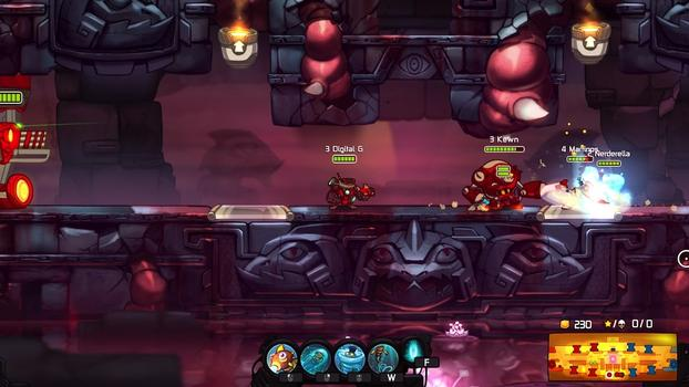 Awesomenauts: Digital G Skin on PC screenshot #1