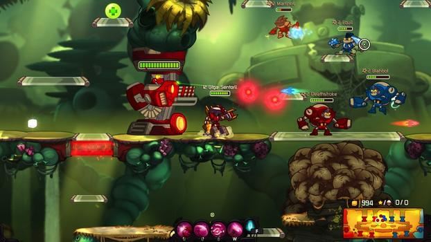 Awesomenauts - Giga Sentorii Skin on PC screenshot #5