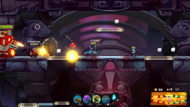 Awesomenauts - Gnabot on PC screenshot #2